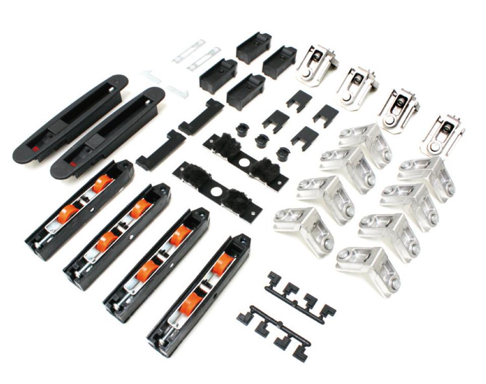 Master amplia la gamma di accessori per i sistemi for Uniform sistemi per serramenti